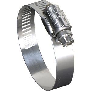 Pack of 10 67-6 Series Marine Grade Ideal Tridon 6712651 316 Stainless Steel Clamp 1//2 Band SAE 12 Size